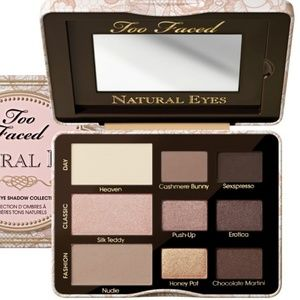Too Faced natural eyes shadow palete